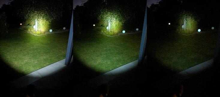 NexTool Taschenlampe drei Stufen