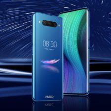 Nubia Z20 Smartphone Blau