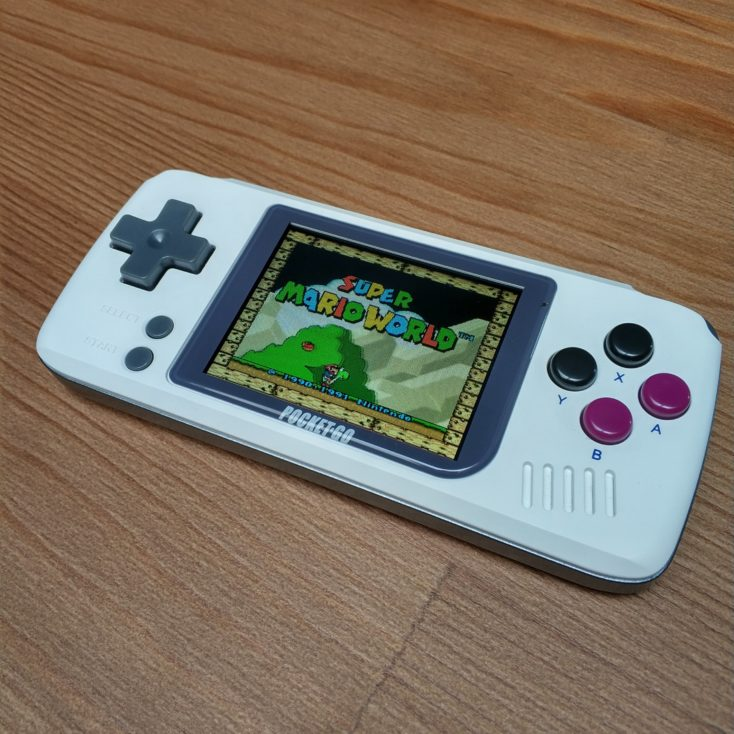 Pocket Go Retro Konsole mit Emulator