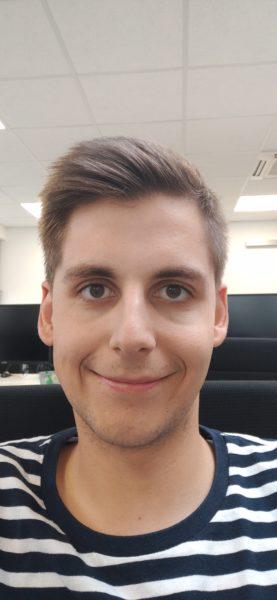 Realme X Testfoto Frontkamera Person
