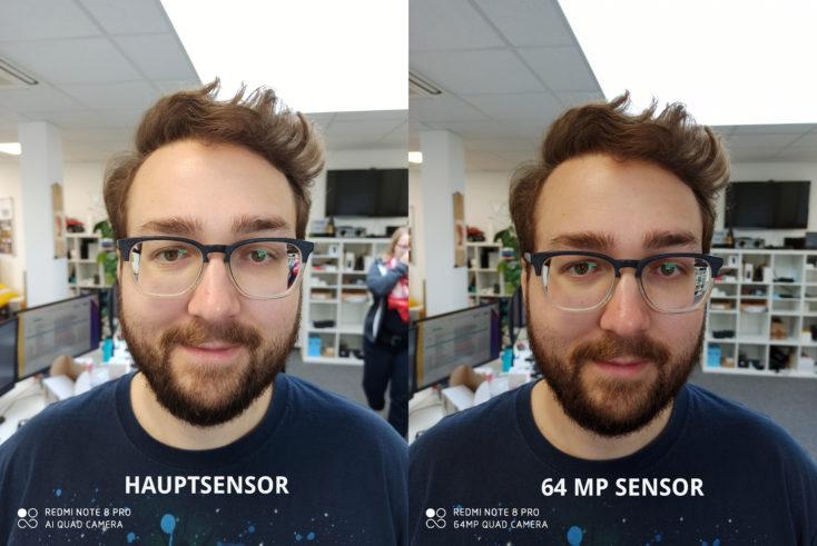 Redmi Note 8 Pro Hauptkamera Testfoto Vergleich 64MP Modus