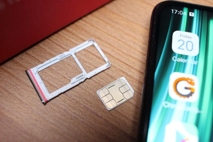 Redmi Note 8 Pro SIM-Slot