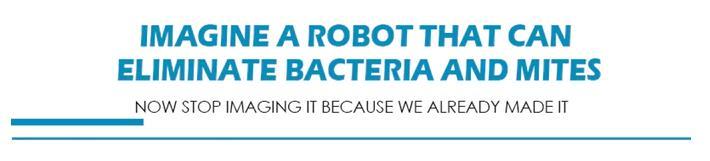 Rockubot Roboter Milben Ankündigung