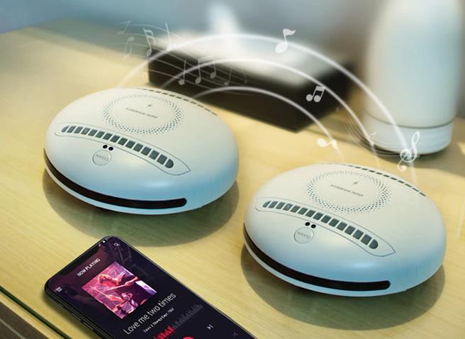 Rockubot Roboter Milben Bluetooth-Speaker TWS