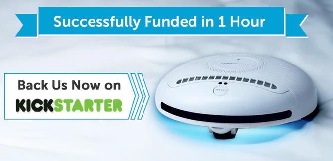 Rockubot Roboter Milben Kickstarter Finanzierung
