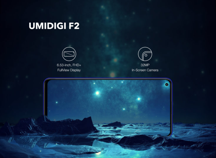 UMIDIGI F2 Display