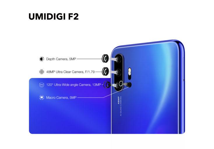 UMIDIGI F2 Smartphone Kamera