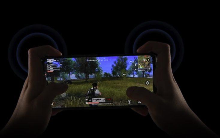 Vivo iQOO Pro Schultertasten Gaming