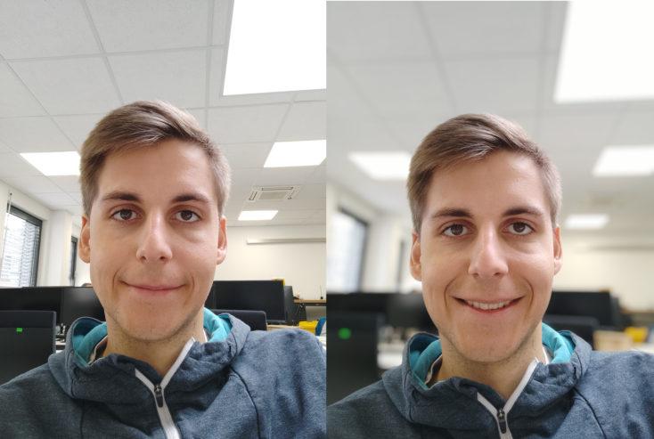 Xiaomi Mi 9T Pro Frontkamera Testfoto Portrait Vergleich