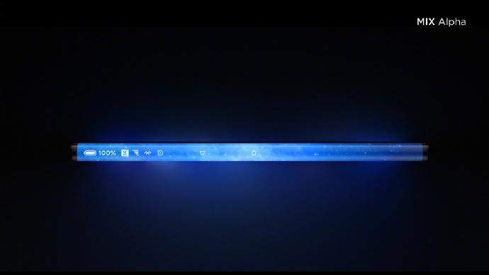 Xiaomi Mi Mix Alpha Seitendisplay