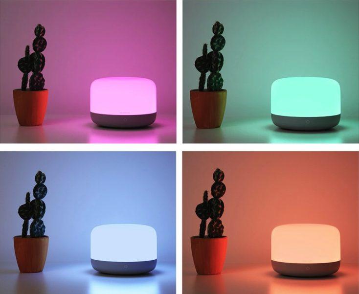 Yeelight Nachttischlampe 2 Farben