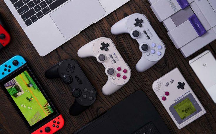 8Bitdo SN30 Pro+ Controller Farben