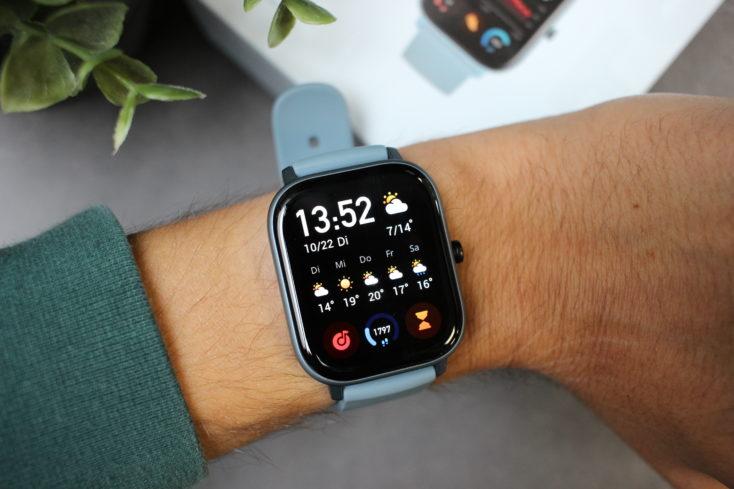 Huami Amazfit GTS Smartwatch Arm 2