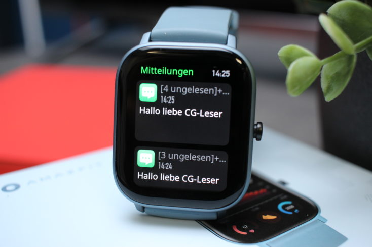 Huami Amazfit GTS Smartwatch Benachrichtigungen_2