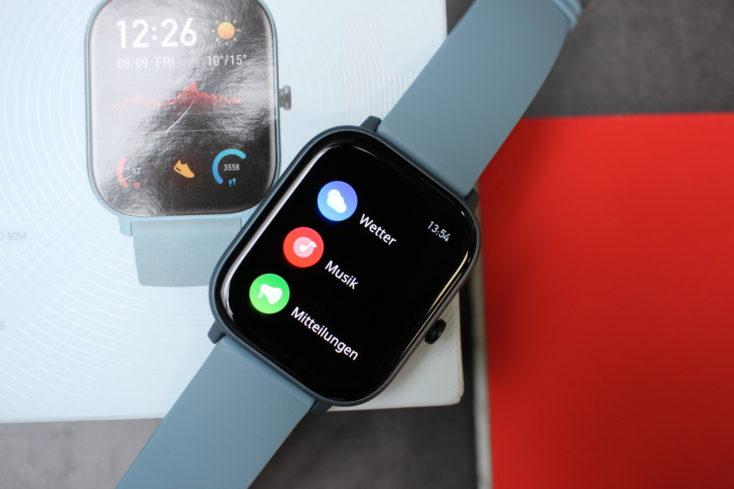 Huami Amazfit GTS Smartwatch Menü