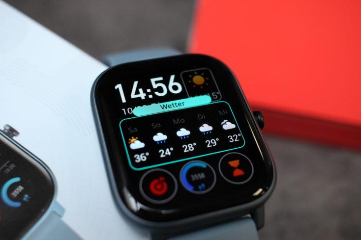 Huami Amazfit GTS Smartwatch Watchface anpassen 1