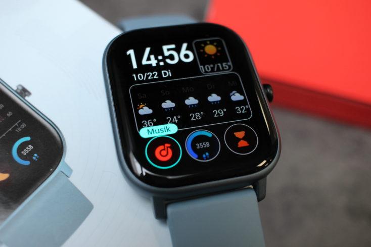Huami Amazfit GTS Smartwatch Watchface anpassen 2