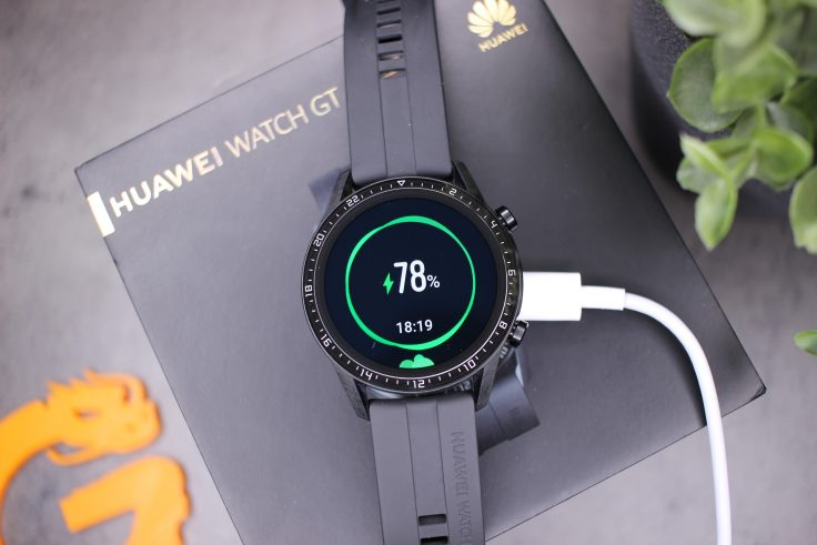 Huawei Watch GT 2 Akku Laden