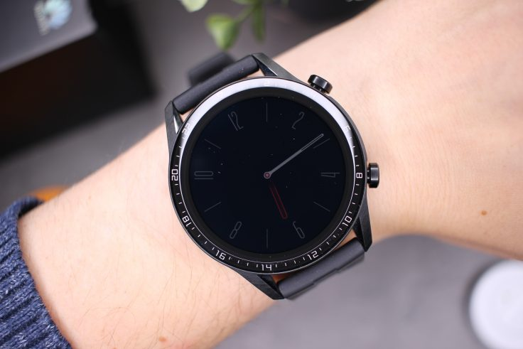 Huawei Watch GT 2 Always on display