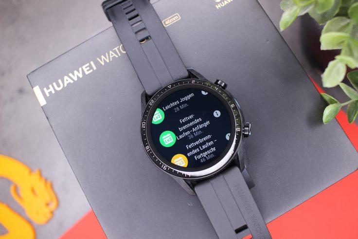 Huawei Watch GT 2 Laufkurse