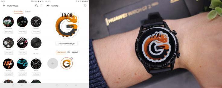 Huawei Watch GT 2 Watchfaces CG