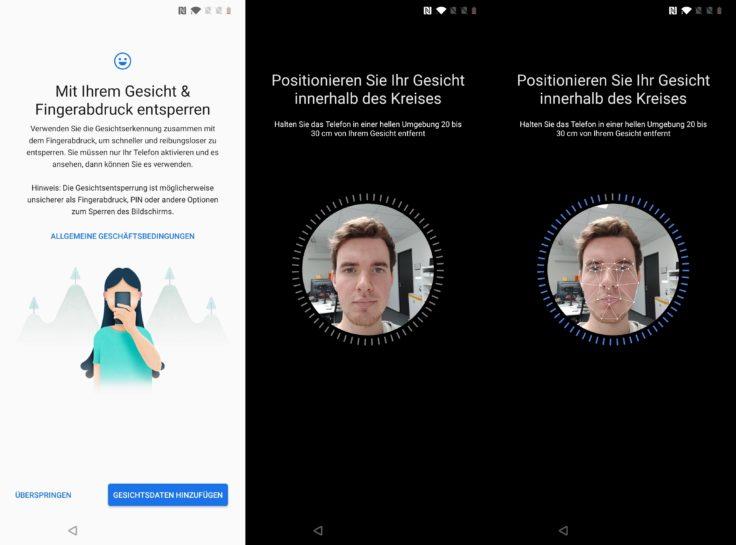 OnePlus 7T Face Unlock