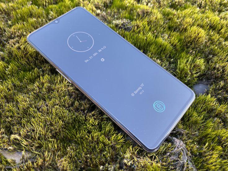 OnePlus 7T Inaktivitaetsdisplay
