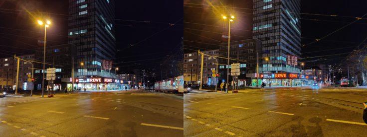 OnePlus 7T Nachtmodus Barbarossaplatz