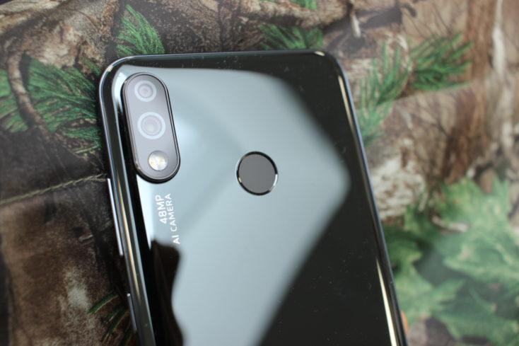 Oukitel Y4800 Smartphone Fingerabdrucksensor