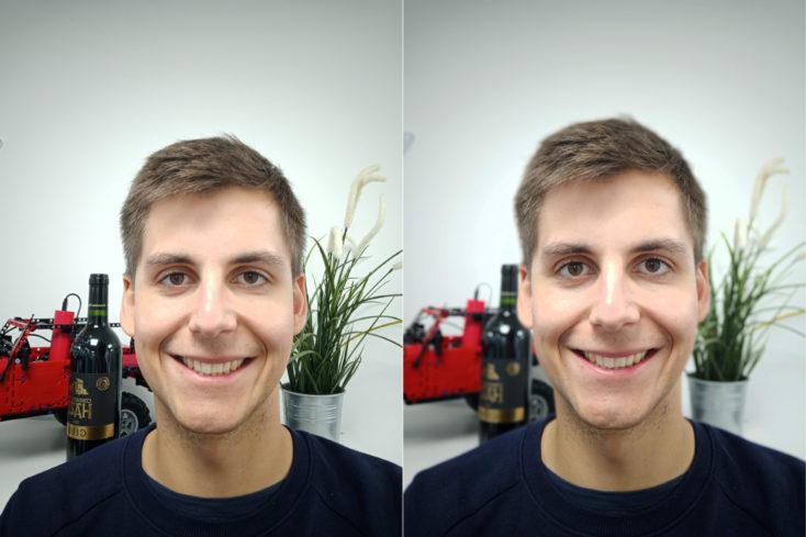 Oukitel Y4800 Smartphones Frontkamera Portrait Vergleich