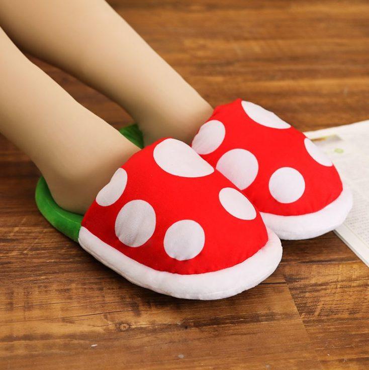 Piranha Hausschluppen für kleine Füße.