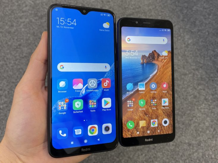 Redmi 8A vs Redmi 7A