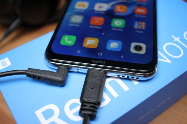 Redmi Note 8 Smartphone Anschlüsse
