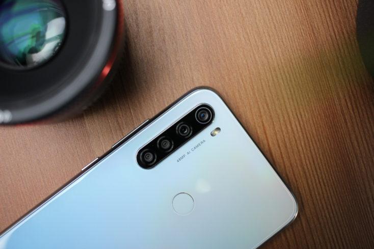 Redmi Note 8 Smartphone Quad-Kamera oben