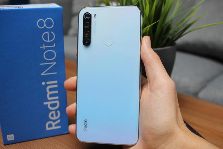 Redmi Note 8 Smartphone Rückseite ganz