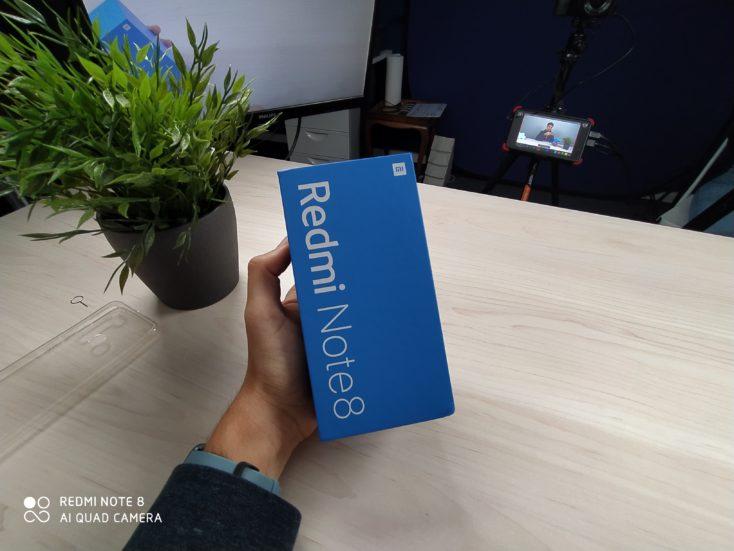 Redmi Note 8 Smartphone Testfoto Weitwinkel Box