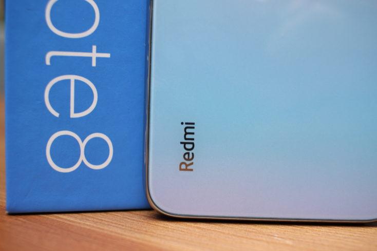 Redmi Smartphone Rückseite Redmi Logo