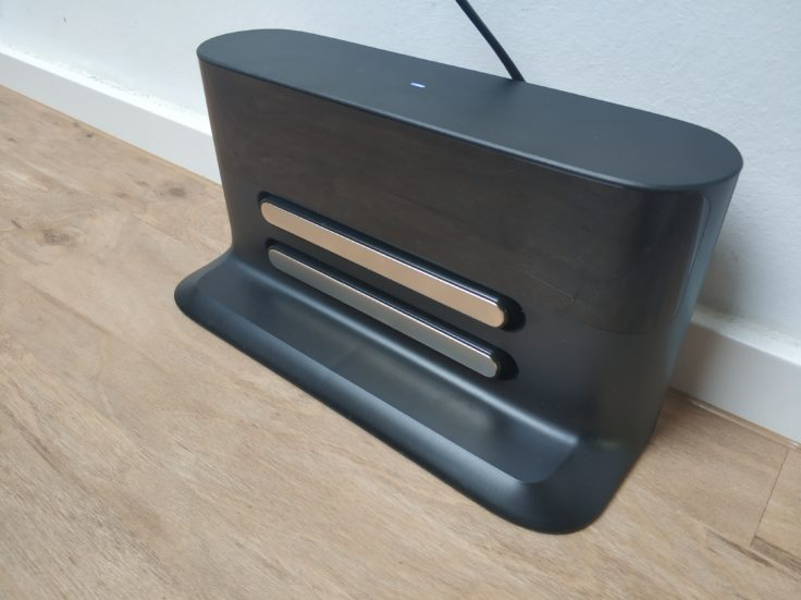 Roborock S4 Saugroboter Ladestation Design