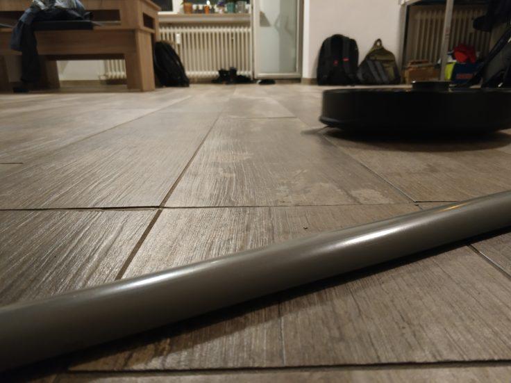 Roborock S4 Saugroboter Türschwelle