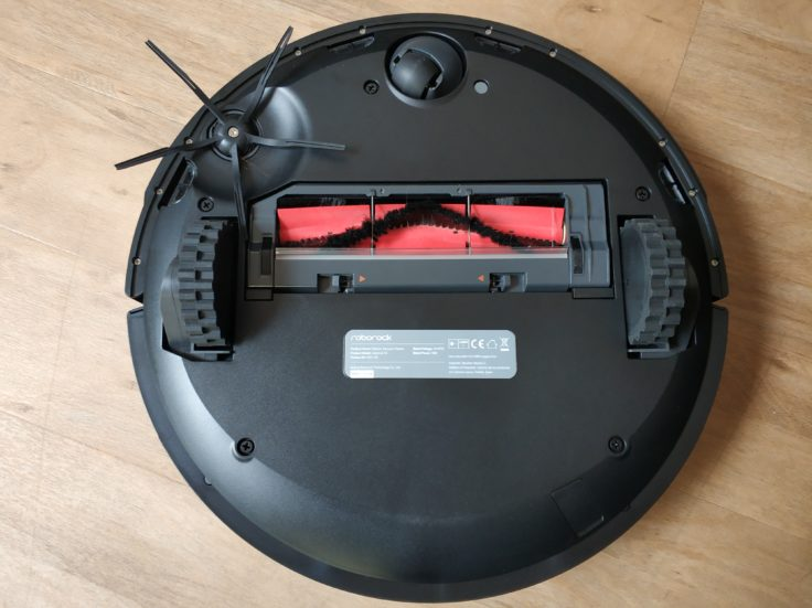 Roborock S4 Saugroboter Unterseite