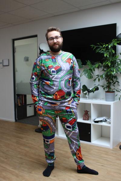 Straßenspielteppich Pullover Ganz