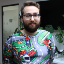 Straßenspielteppich Pullover