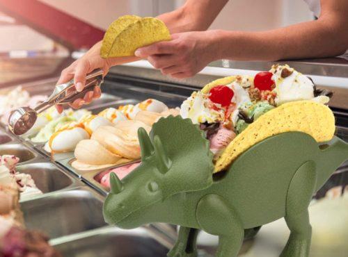 Taco Dinosaurier Eis