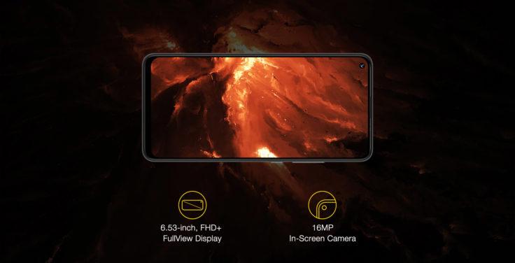 Umidigi Power 3 Display Frontkamera
