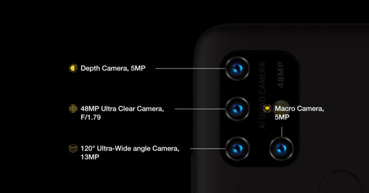 Umidigi Power 3 Quad Kamera