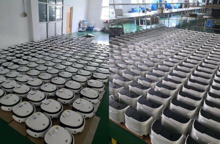 Veniibot Venii N1 Wischroboter Saugroboter Fabrikproduktion