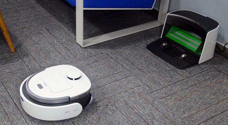 Veniibot Venii N1 Wischroboter Saugroboter Ladestation