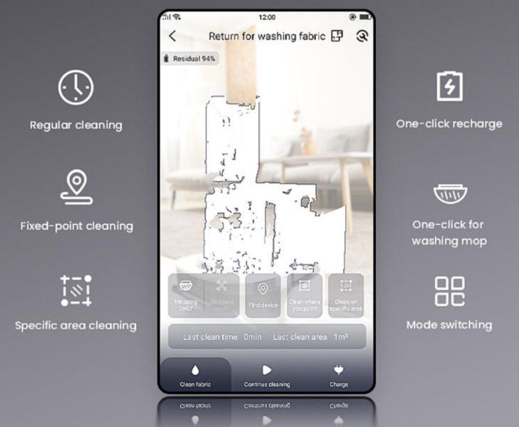 Veniibot N1 Saugroboter App Venii