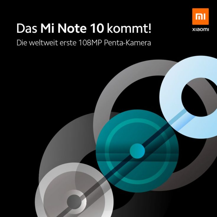 Xiaomi Mi Note 10 Grafik