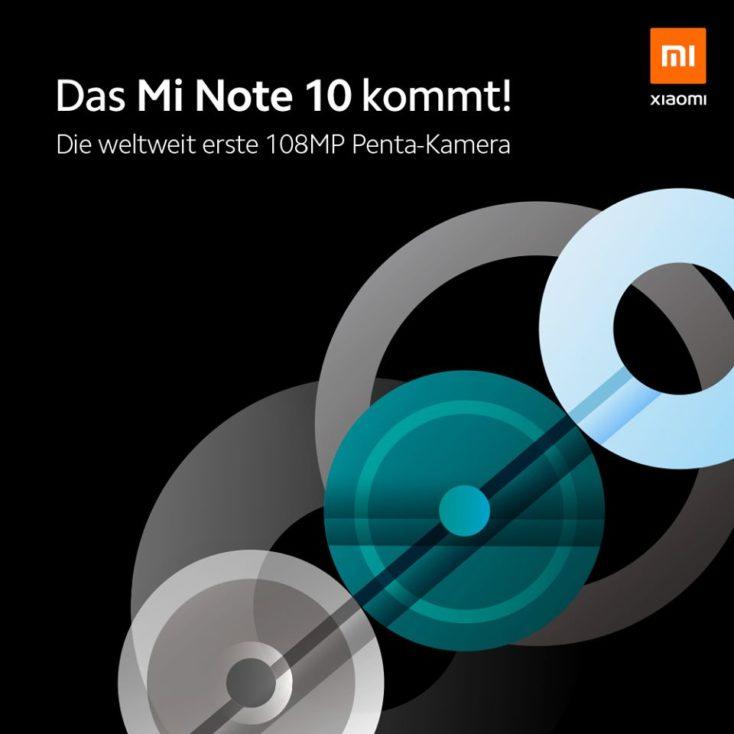 Xiaomi Mi Note 10 Grafik